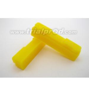 Recharge patins CNC Heatsink jaunes