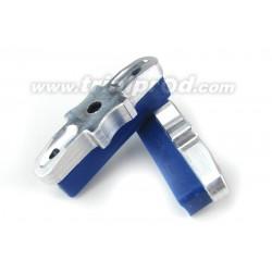 Patins Heatsink CNC bleu