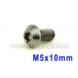 Vis titane M5 x 10mm torx T25