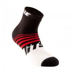 Chaussettes Jitsie Airtime2 noir-rouge
