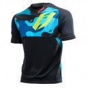 Jistie jersey B3 Squad blue-fluo green