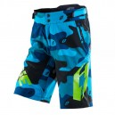 Short Jitsie B3 Squad bleu-fluo vert