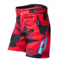 Shorts Jitsie B3 Squad Red Kid
