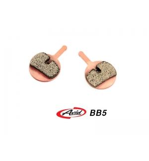 Plaquettes Trialtech Sport pour Avid BB5