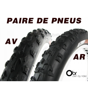 Pair of OBR Gekok tires (1 front + 1 rear)