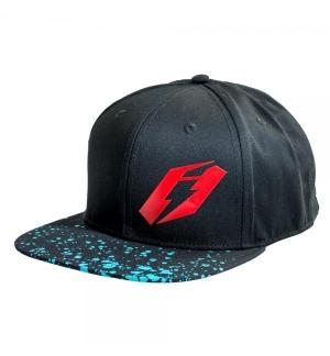 Hat Jitsie Kroko black/red