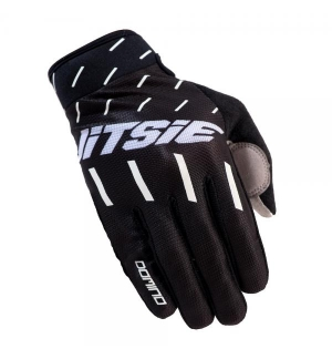 Gloves Jitsie Domino Black-white