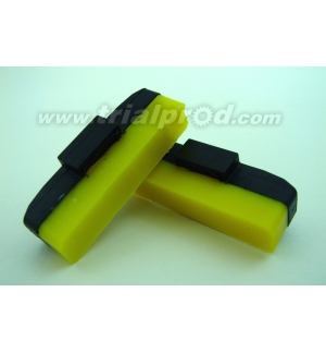 Heatsink yellow brake pads