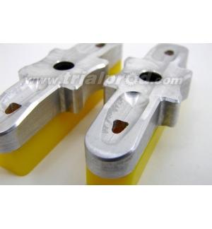 Heatsing yellow CNC pads