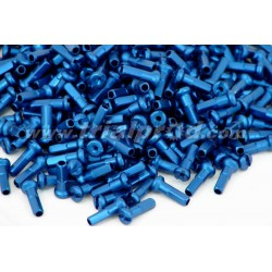 Nipples alloy 14mm (32 pcs) blue