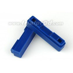 Recharge patins CNC Heatsink bleu