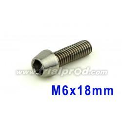 Titanium bolt M6 x 18mm