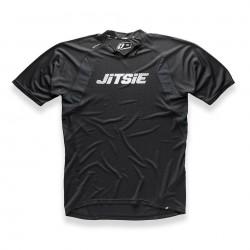 Shirt Jitsie Airtime Black-WHite
