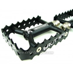 Single cage Brobike pedals