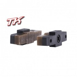 TK2 brake pads - brown