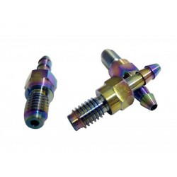 Racing Line M6 Titanium barbed fitting