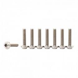 Jitsie M5x25 titanium bolts (lot of 4)