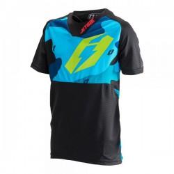 Jistie jersey B3 Squad Kid blue-fluo green
