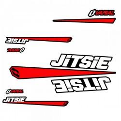 Kit autocollant Jitsie pour cadre Varial