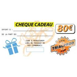 Chèque cadeau Trialprod 80€