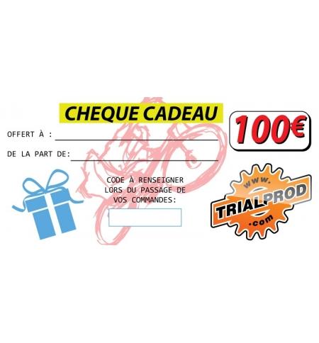 Chèque cadeaux Trialprod 100€