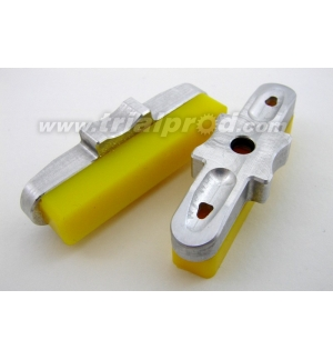 Heatsing yellow CNC pads