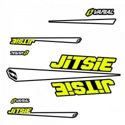 Stikers kit for Jitsie Varial Frames Yellow