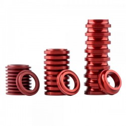 Jitsie hub spacers - Red