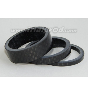 Carbon spacers (3 pcs)