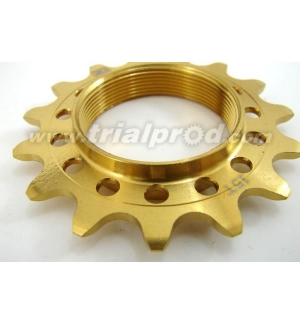 Titanium Echo threaded sprocket