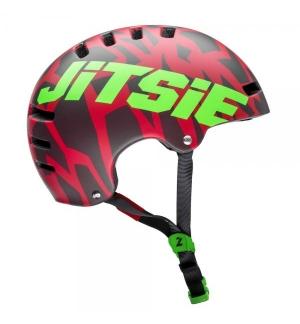 Casque Armor-Jitsie Kroko rouge