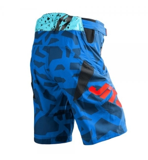 Shorts Jitsie B3 Kroko Red / fluo green