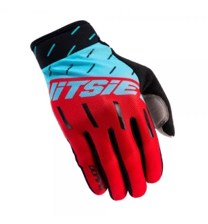 Gloves Jitsie Domino Red-Teal