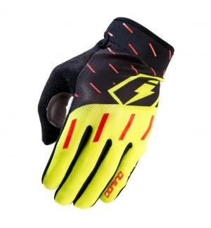 Gloves Jitsie Domino Yellow-Black