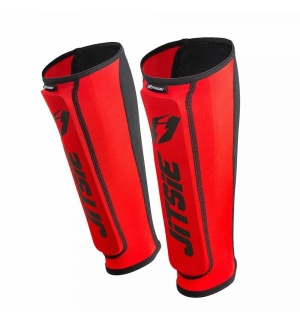 Jitsie Dynamic shinguards v2 RED