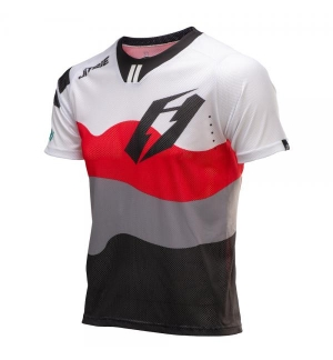 Jersey Jitsie B3 Wave White-Red-Black