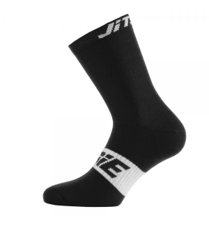 Chaussettes Jitsie Solid Noires-blanches