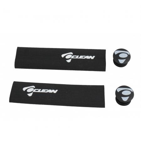 Clean extra thin foam Grips