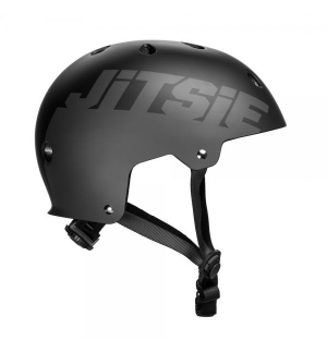Helmet Jitsie C3 Solid Black/Grey