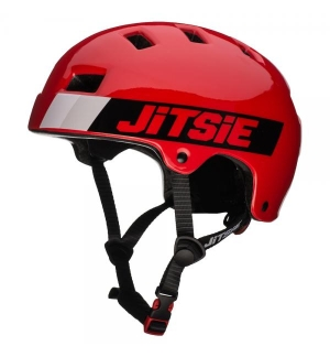 Casque Jitsie B3 Craze Rouge