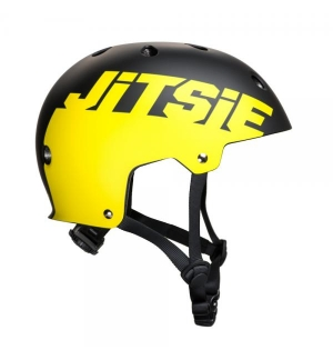 Helmet Jitsie C3 Solid Black/Red
