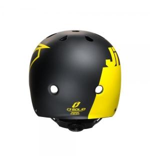 Helmet Jitsie C3 Solid Black/Red