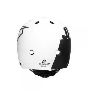 Helmet Jitsie C3 Solid Black/Yellow