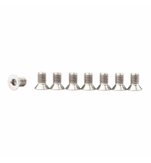 Ti Bolts for front and rear hub M6x25 (4 pc.)