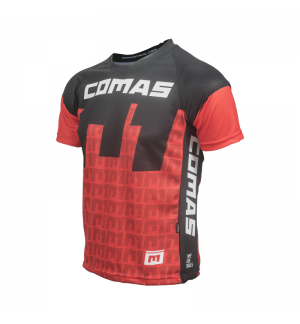 Jersey Comas red-black-white