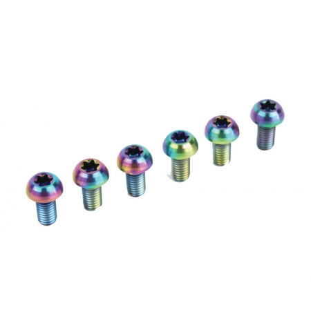 Clean Ti Bolts for pedal's cage M5x10 (4 pc.)