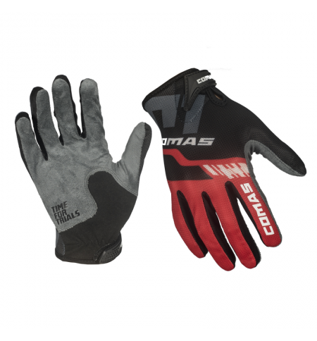 Gloves Comas Race Black-Red
