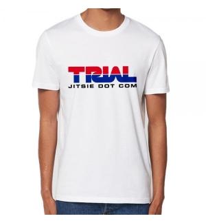 Tshirt Jitsie TRIAL Blanc