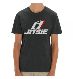Tshirt Jitsie STACKED Grey