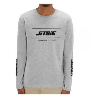 Tshirt long sleeves Jitsie POLYGON Grey